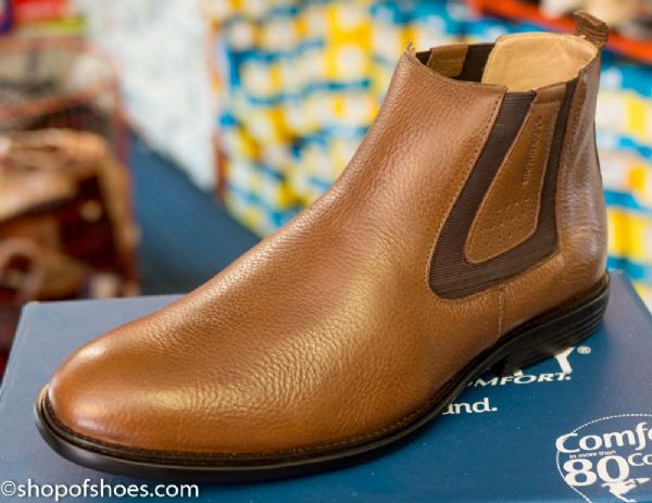 Shoetherapy Gloriously soft leather smart mens Chelsea Boot